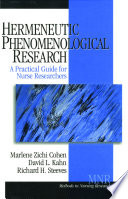 Hermeneutic Phenomenological Research