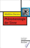Ph  nomenologie der Sinne
