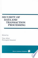 Security of Data and Transaction Processing