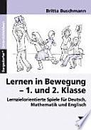 Lernen in Bewegung - 1. und 2. Klasse