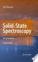 Solid State Spectroscopy