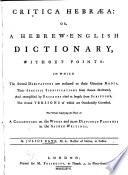 Critica Hebr  a