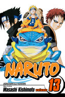 Naruto  Vol  13 : sasuke makes it to the arena in...