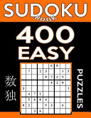 Sudoku Book 400 Easy Puzzles