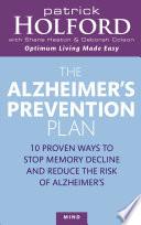 The Alzheimer S Prevention Plan