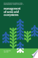 Management of Semi Arid Ecosystems