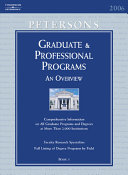 Peterson's Graduate and Professional Programs