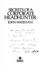 Secrets of a Corporate Headhunter Book PDF