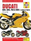 Ducati 600  620  750   900 2 valve V Twins  91 to  05