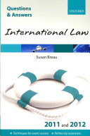 Q   A Revision Guide  International Law 2011 and 2012