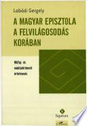 A magyar episztola a felvilágosodás korában