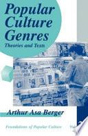 Popular Culture Genres book