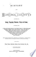 History of Sonoma County [Cal.]
