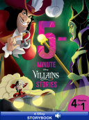 5-Minute Villains Stories Book
