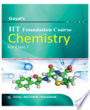 Goyal   s I I T FOUNDATION COURSE CHEMISTRY