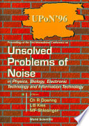 Unsolved Problems Of Noise In Physics, Biology, Electronic Technology And Information Technology, Proc Pdf/ePub eBook