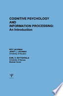 Cognitive Psychology and Information Processing