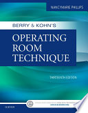 Berry   Kohn s Operating Room Technique
