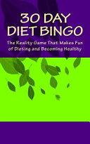 30 Day Diet Bingo