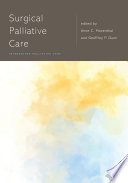 Surgical Palliative Care Book PDF