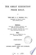 The Great Exhibition prize essay
