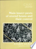 Main insect pests of stored beans ans their control