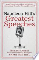 Napoleon Hill S Greatest Speeches