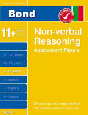 Bond Non-Verbal Reasoning Assessment Papers 9-10 Years