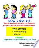 Social Stories - Getting angry and Sharing