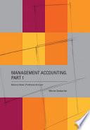 Management Accounting  Part 1     Balance Sheet  Profit Loss Account