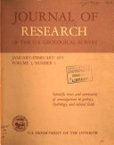 Journal of Research of the U S  Geological Survey