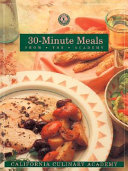 30 minute Meals from the Academy