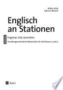 Englisch an Stationen England  USA  Australien