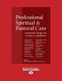 Professional Spiritual and Pastoral Care