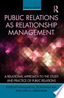 Public Relations As Relationship Management