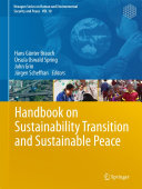 Handbook on Sustainability Transition and Sustainable Peace Book