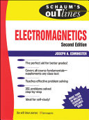 Schaum s Outline of Electromagnetics