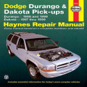 Dodge Durango and Dakota Pick-Ups 1997-99