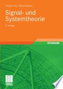 Signal  und Systemtheorie