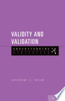 Validity And Validation