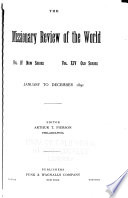 Missionary Review Of The World