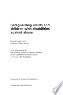 Safeguarding Adults and Children with Disabilities Against Abuse