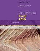 New Perspectives Microsoft Office 365   Excel 2016  Comprehensive  Loose Leaf Version