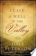 Leave a Well in the Valley Book Cover