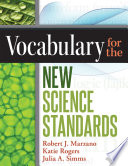 Vocabulary for the New Science Standards