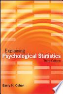 Explaining Psychological Statistics