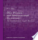 Due Process and International Terrorism