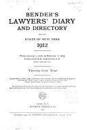 download ebook bender's lawyers' diary and directory for the state of new york pdf epub