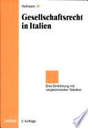 Gesellschaftsrecht in Italien