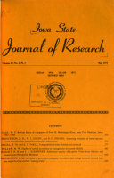 Iowa State Journal of Research